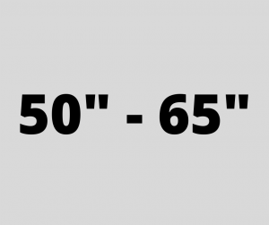 "50"" - 65"""