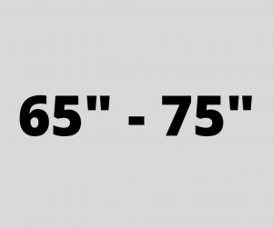 "65"" - 75"""